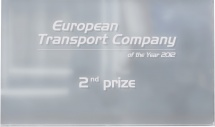 European Transport Company of the Year 2012