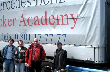Die Mercedes-Benz Trucker Academy Schulung