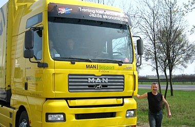 Fahrertraining MAN Star Truck