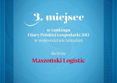 Maszoński Logistic - Pillar of Polish economy.