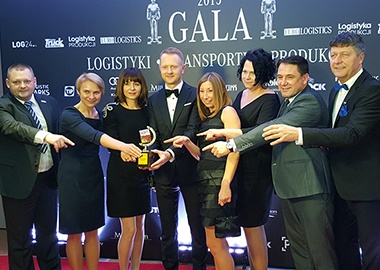 Maszoński Logistic - Leader of Logistic in the XIV edition of the Logistic Operator of the Year Umfrage